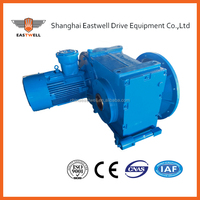 F series helical reduction gearbox EQ SEW helical gearbox speed reducer made in china