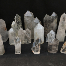 Wholesale Large clear quartz rock crystal wands and points for decoration
