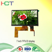 7 capacitive touch panel tft lcd 800*480