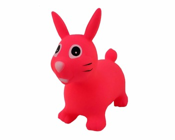 Promotional Colorful Environmental Protection Colorful bounce Toy Jumping Horse Toy and Hopper Humping Animal for kid