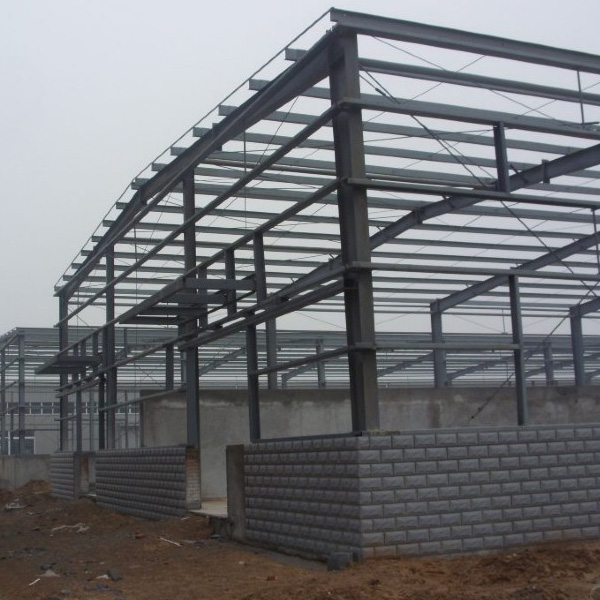 galvanized/paint light steel metal buildings