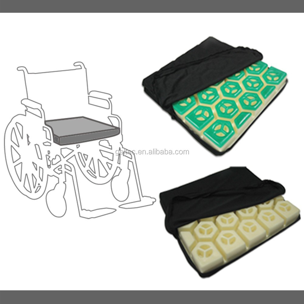 gel wheelchair cushion, wheelchair seat cushion, wheelchair cushion