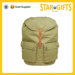 2015 Alibaba China wholesale durable fashion canvas sports backpack