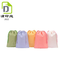 china products light color nylon drawstring bag for pack your choose cloth dust bag waterproof bag