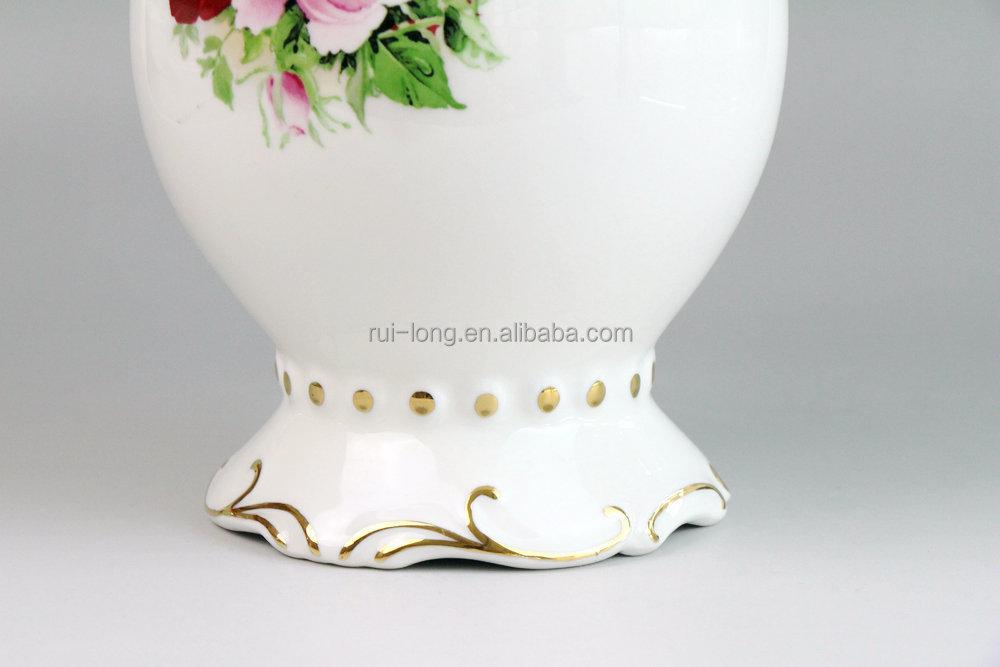 China Ceramic Painting Design Decoration Flowers Vase Buy Ceramic