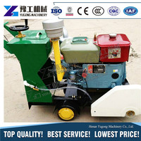 Giant Power Engine asphalt cutter Cutting Depth 180mm For Construction