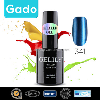 Gado New shiny metal gel nail polish