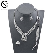 Wholesale Bridal Jewelry Set Costume Jewellery Set From Dubai