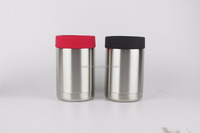 New Hot 18/8 Stainless Steel/Strong stainless steel can cooler,insulated bottle cooler