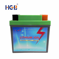Hot sales LiFeP04 Motorcycle Battery 12V 21-30Ah lithium polymer rechargeable battery