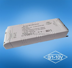 36v 2000ma 72W LED panel light dimming led driver 80W