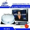 Satellite TV receiver use in car,boat,outdoor activity