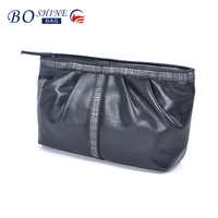 Newest pictures lady fashion clutch bag waterproof soft PU leather funky clutch bag for ladies/girls