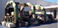 Obstacle Course Camouflage/new design inflatable games