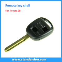 Top quality car remote key for Toyota car flip key shell 2 button
