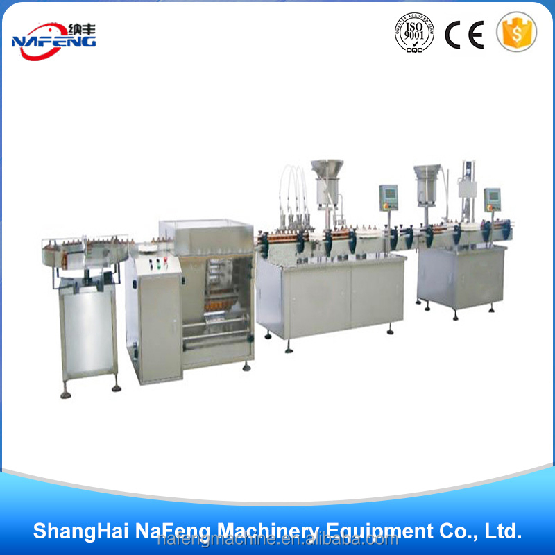 soap liquid spray filling and capping for bottles production line