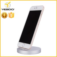 new design Aluminm cell phone charging dock stand