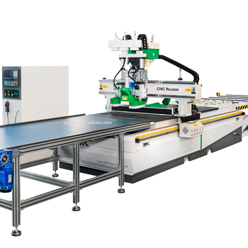 PMSK&GETE M6-F Double spinde and drill cnc router machine center