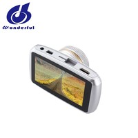 Super strong night vision GC1024 3.0 inch Car DVR Camera private mould recorder dual lens with G-sensor