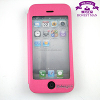 magnet leather flip TPU case for iphone 5 plastics case screen protector case for iphone 5 wholesale