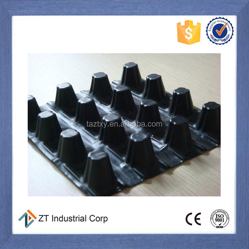 25mm High hardness dimple composite drainage board