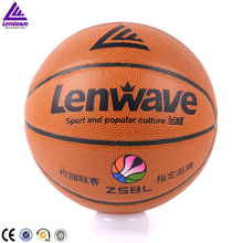 Lenwave brand laminated training pvc basketball