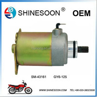 Chinese wholesale fast delivery starter motor of motorcycle engine part
