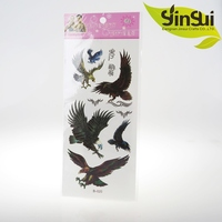 New arrival stock temporary tattoo sticker for men