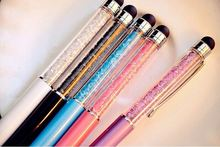 Bling engraved pens crystal gift pen mini crystal pen with custom logo