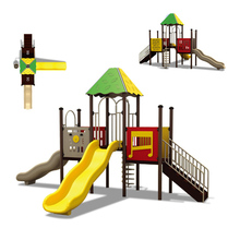 KINPLAY brand Hot selling amusement park playground equipment slide outdoor toy for kids