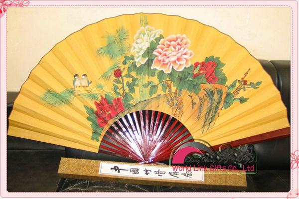 Decorative Wall Fans hang chinese antique decorative wall fan - buy decorative wall fan