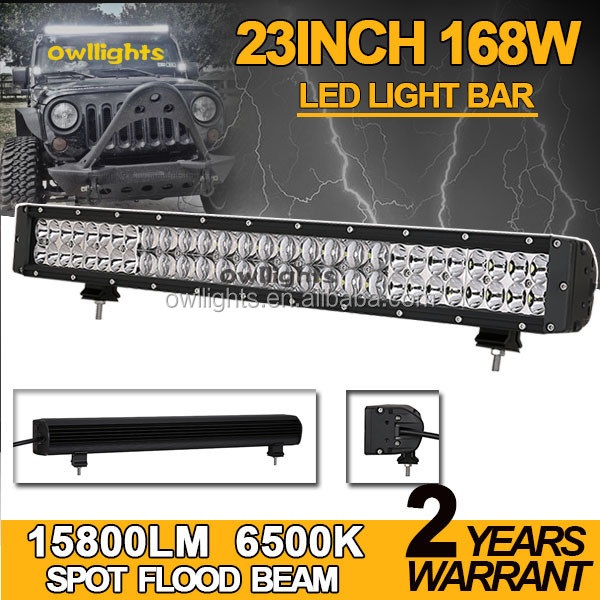 "Best Selling Car Spare Parts Mix 3D and 5D Reflectors 20"" 168w LED Light Bar 4x4 LED Light Bar for SUV ATV Jeep"