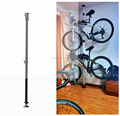 GUB S11 Wholesal Cycling Bicycle Bike Showing Stand Wall Hooks Hanger Wall Mounted Rack Bicycle Wall Hanging Rack Strong Steel