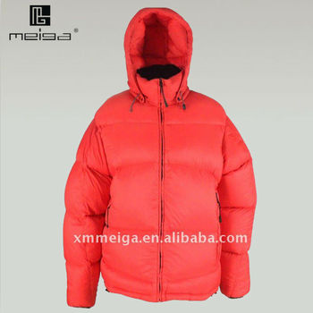 2014 Red Women's Fitted Down Jacket