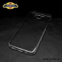 Transparent clear PC case for samsung S8 plus