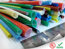 DEAN DAF Acrylic covered fiberglass sleeving 4KV tube UL ROHS approved cable