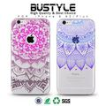 Wholesale Latest 3D mandala flower TPU Soft Mobile Phone Case for Apple iPhone 7plus Clear TPU phone case for samsung galaxy s7