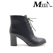 new stylish arrival patent winter ladies leather shoes