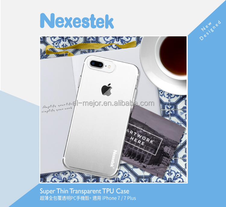 Nexestek Taiwan High Quality Ultra-Thin TPU Case for iPhone 7/ 7 PLUS
