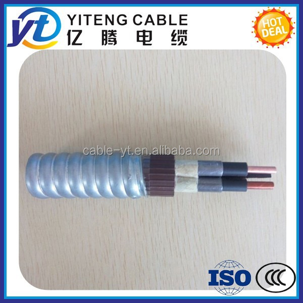 AWG 3kv 5kv 6kv ESP Electric Submersible Pump Cable round and flat type