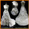 2016 Latest wedding dresses ruffle dress for wedding appliqued mermaid wedding grown from China