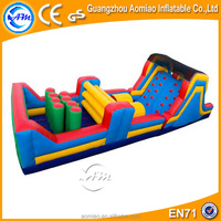 cheap price inflatable obstacle,inflatable interactive adult game,inflatable obstacle course for sale