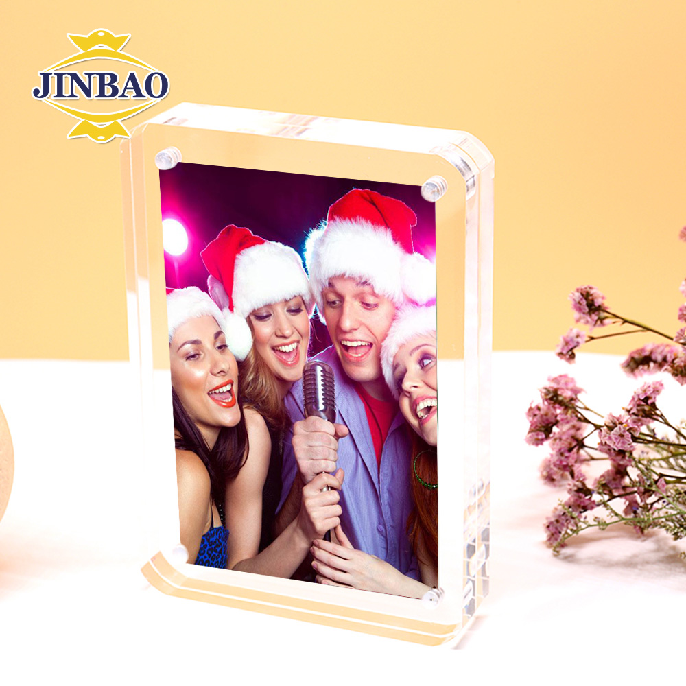 JINBAO Clear Simple Naked Girls Acrylic Photo Foto Display Frames Picture Frame 4x6