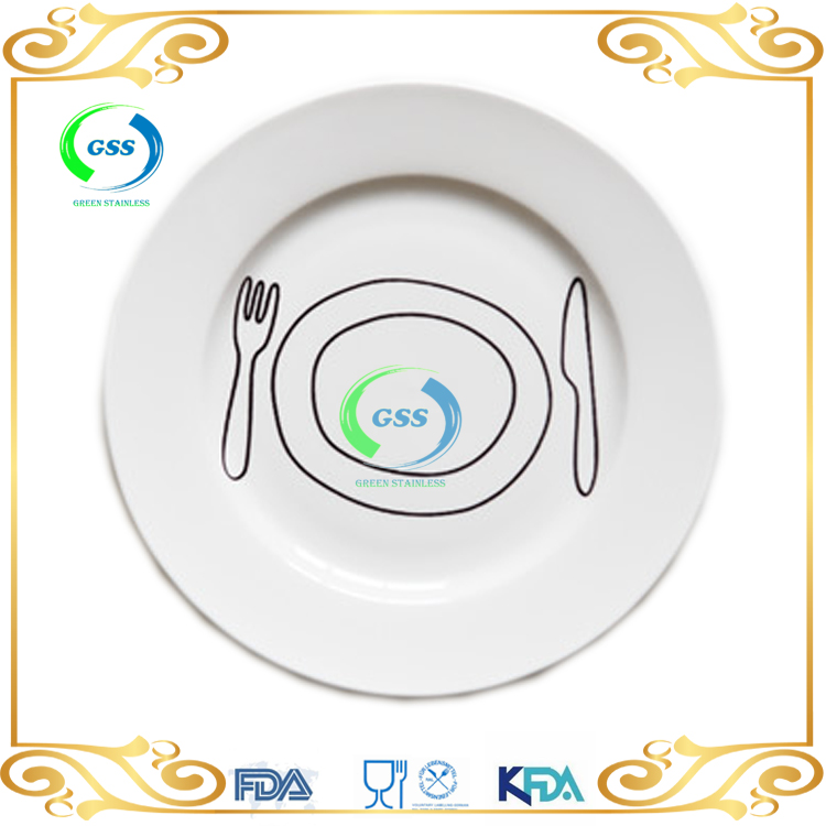 japan design promotional white tableware for home and restaurant