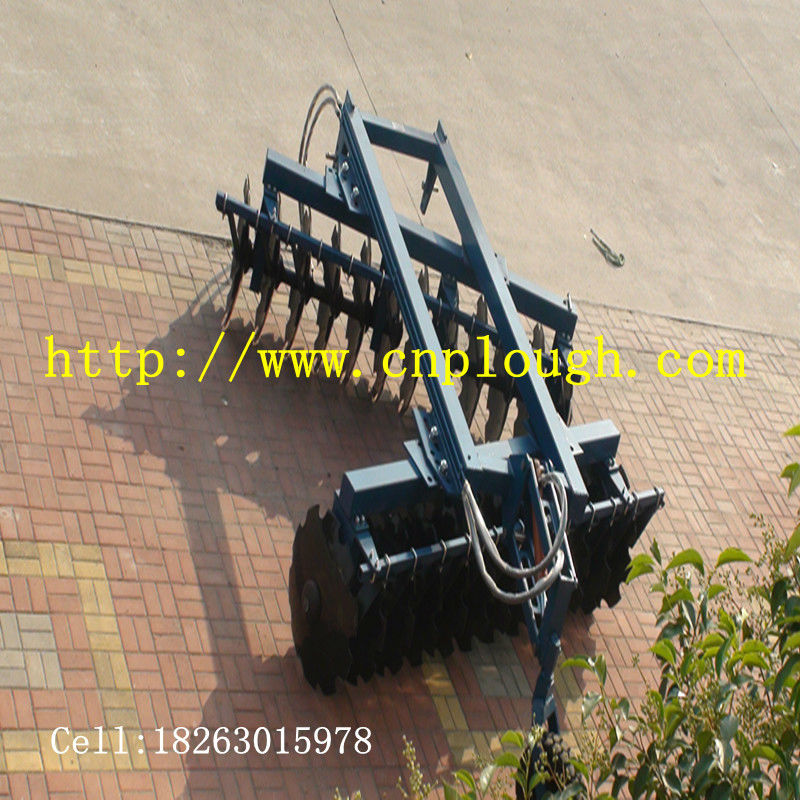 semimounted heavy-duty tandem disc harrow
