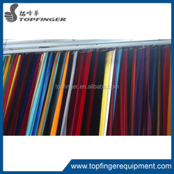 super quality soft silky velvet pipe and drape curtain drapery
