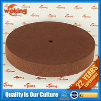 Non-woven polishing wheel for copper, aluminum alloy soft metal