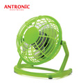 Antronic ATC-403 Green Color Portable Mini 5V USB Desk Fan