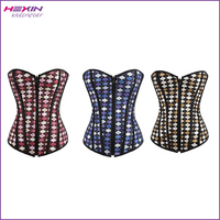 Hot New Prisma Print Bustier Corset Overbust Cheap Shapewear