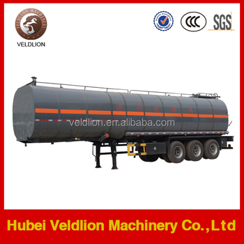 48000L 3 Axles Chemical Liquid Tank Semi Trailers